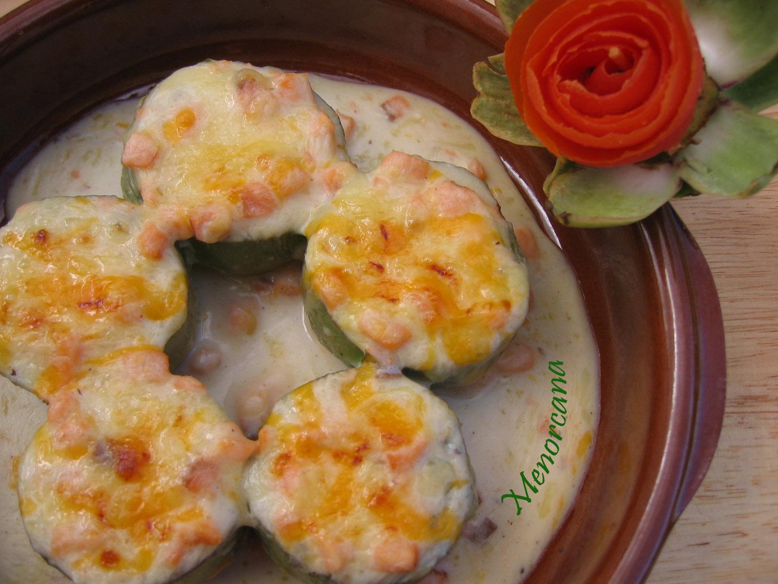 Alcachofas rellenas de bechamel y salm n ana en la cocina - Ana en la cocina ...