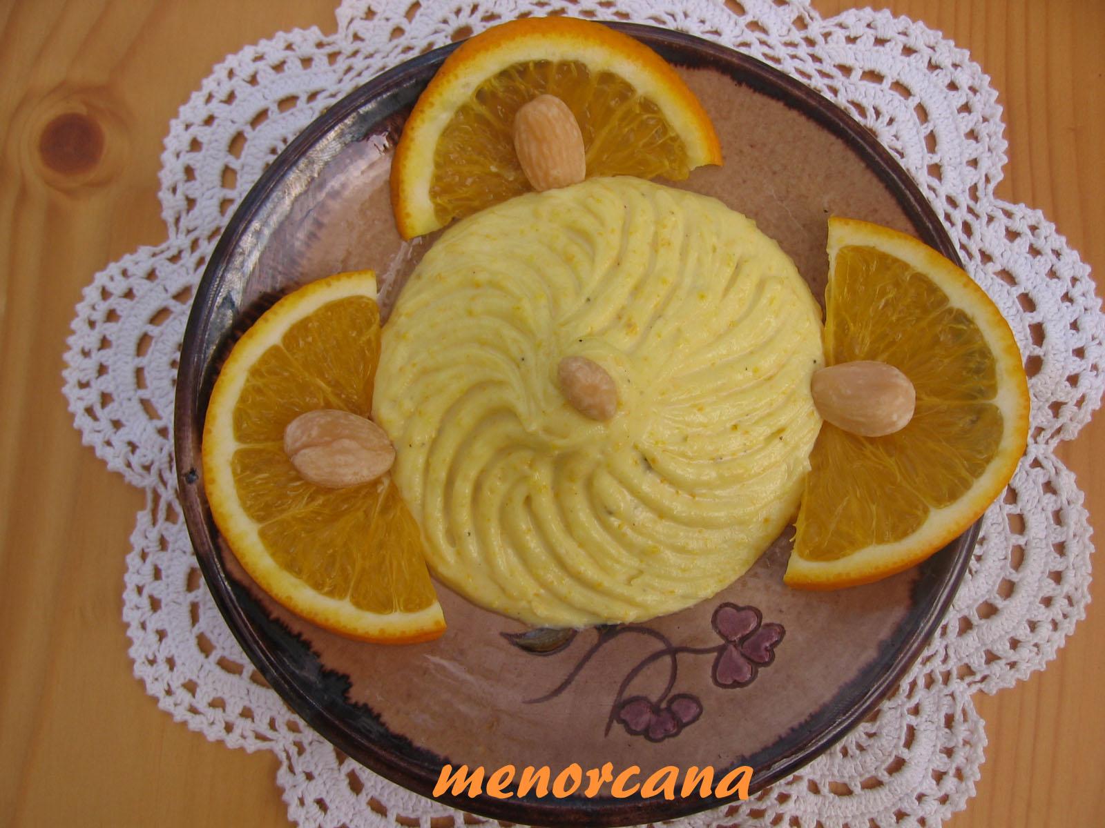 Mahonesa de naranja