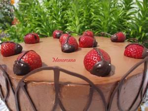 Hoy hace 22 años que nació Laura, y es el primer cumpleaños que no celebra en casa…he querido hacer una tarta un año más para ella, aunque no esté para comerla, pero sé que se alegrará al verla… La Mousse la he visto en el blog de Auro y la idea de los profiteroles de […]