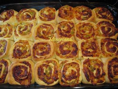 Roller pizza Ana en la cocina