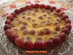 Una tarta con la fruta estrella del otoño… las uvas!!!!!!!!!