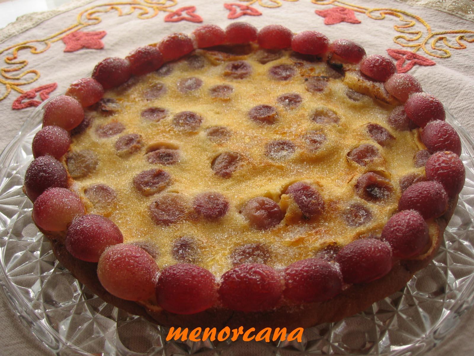 Tarta de uvas negras ana en la cocina - Ana en la cocina ...