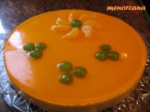 Una tarta muy vistosa y de sabor muy suave… y no es empalagosa!!!!