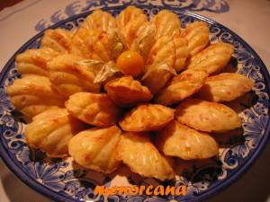 Otra variante de las magdalenas saladas… esta vez de Jamón y con moldes distintos!!! Pequeños bocados para disfrutar en el desayuno, la merienda o como aperitivo.