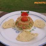 tartar de salmon 007 menorcana