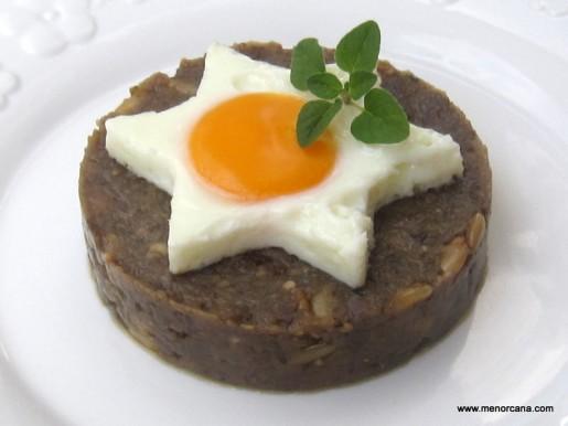 Morcilla de verano con huevo a la plancha ana en la cocina - Primeros platos faciles y originales ...