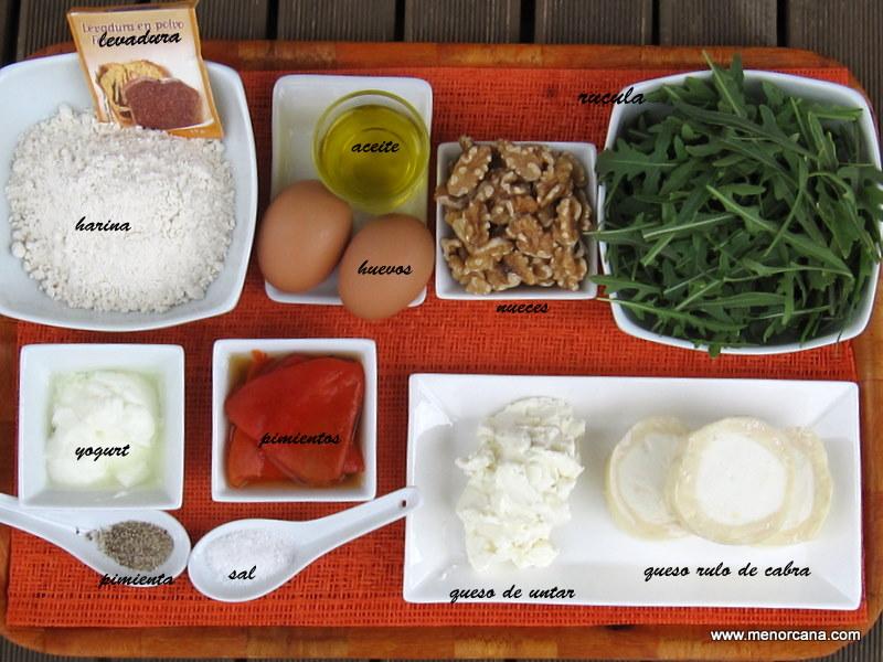 Ingredientes rollo piquillo ana en la cocina - Ana en la cocina ...