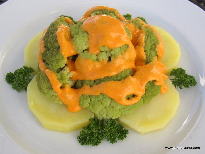 Br coli con salsa de piquillos ana en la cocina - Ana en la cocina ...