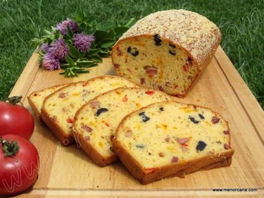 Cake Tomate Mozarella De Sophie