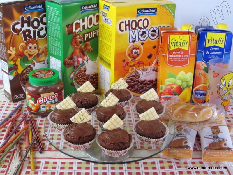 Bizcochitos de cereales chocolateados (Lidl)