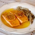 salmon naranja