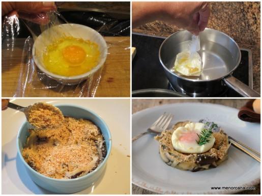shiitake, foie, huevo 2