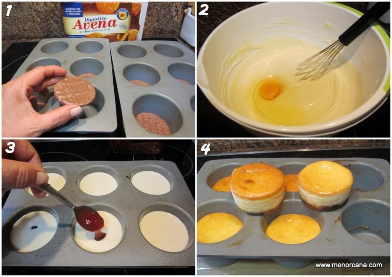 como hacer pastelitos de queso