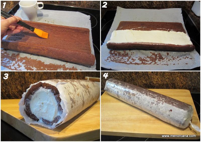 Como hacer brazo de gitano de tiramisu