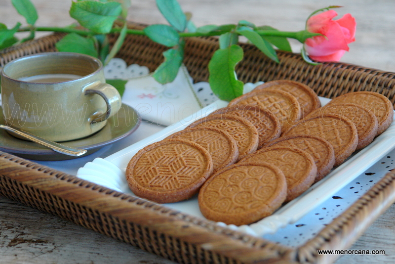 Galletas caramelizadas (tipo lotus)