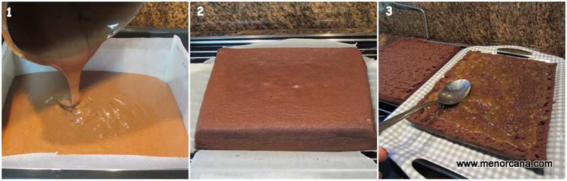 Como hacer el bizcocho de la tarta Rigó Jancsi