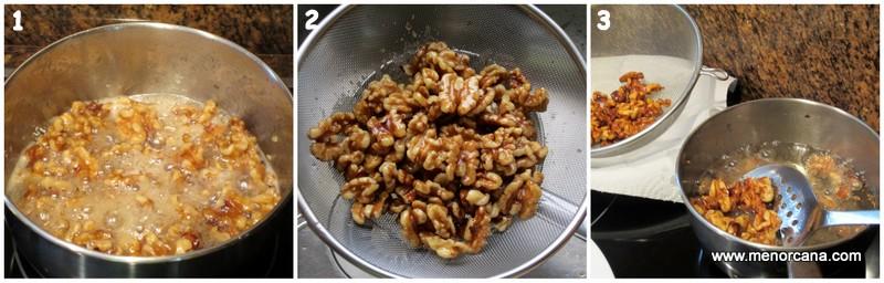 Como hacer nueces cantonesas
