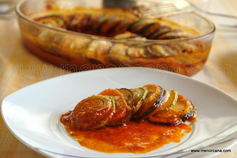 Ratatouille (hortalizas al horno)