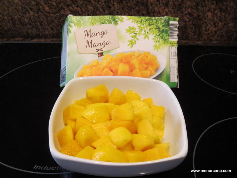 mango congelado lidl