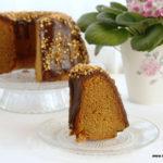 Bizcocho de mantequilla de cacahuete (Bundt Cake)