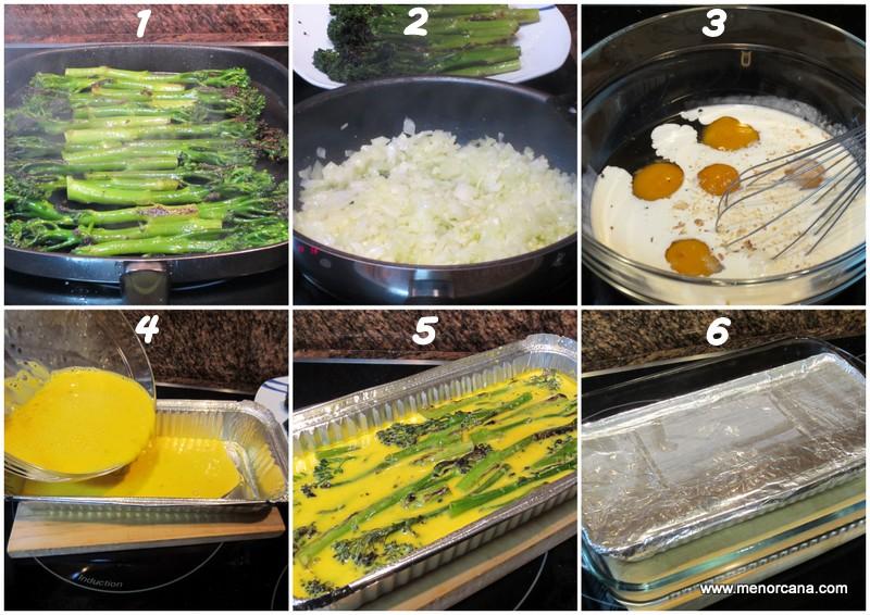 Como hacer Pastel granada de bimi (receta mallorquina)