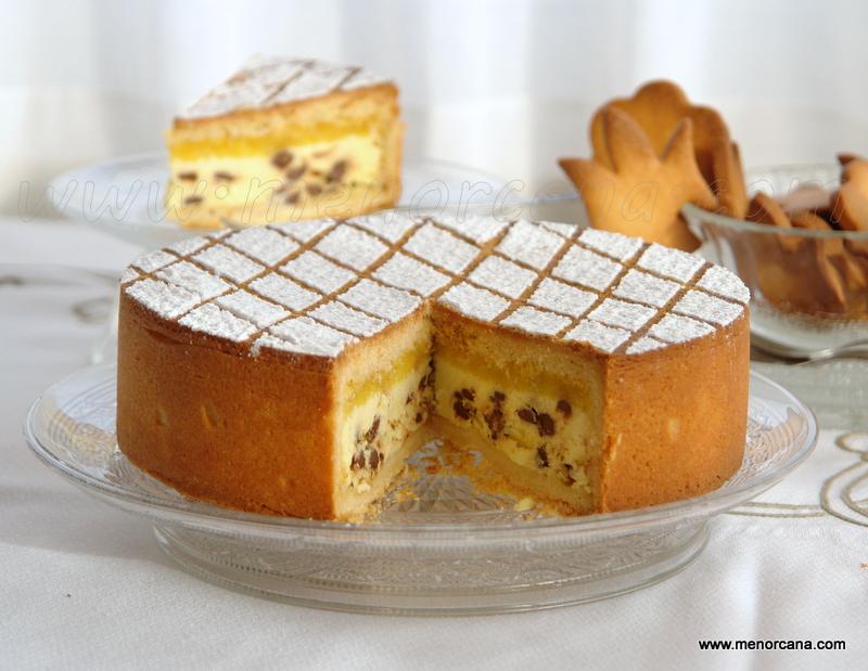 Cassata siciliana al horno (receta italiana)