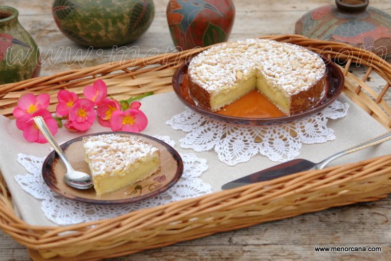 Tarta de la abuela o torta della nonna (receta italiana)