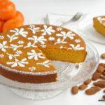 Tarta de almendra y mandarina (sin gluten, sin grasas)