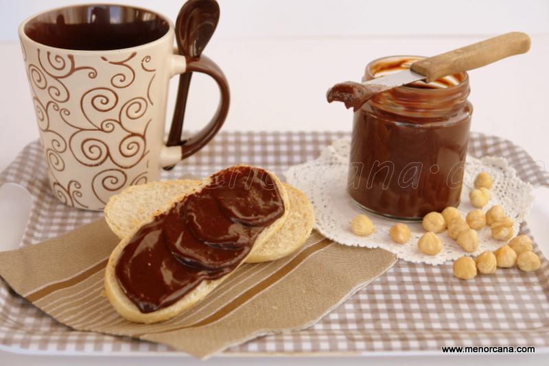 Crema de cacao y avellanas casera (tipo nocilla, nutella)