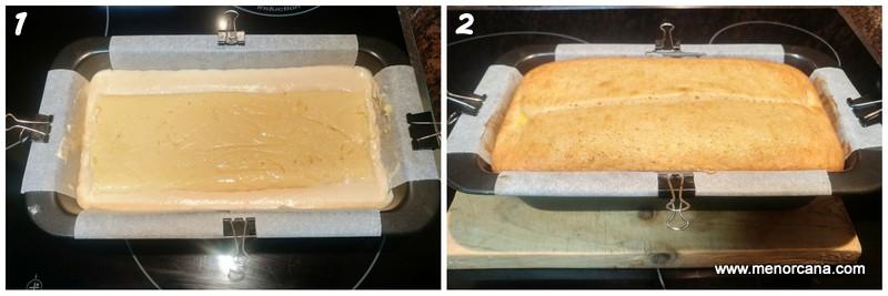 como hacer bizcocho relleno de crema pastelera