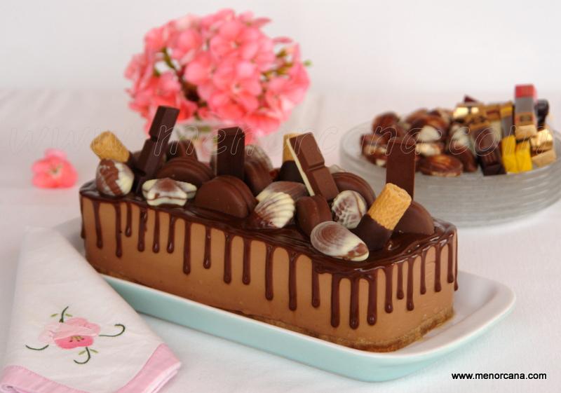 Bavarois al chocolate